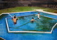 Children with Pool
